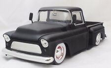 JADA DUB CITY 1955 CHEVY STEPSIDE MATTE BLACK 1/24 DIECAST CARS NEW WITHOUT BOX