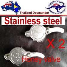 SS  HONEY GATE VALVE,STAINLESS STEEL COMMERCIAL QUALITY  VALVE BEE KEEPING