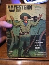 Street And Smith Western Story February 1947 Rare Pulp