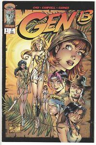 Image 1995 GEN 13 #3 J. Scott Campbell Very Fine VF Bag/Board Comics Fairchild