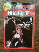 1992-93 The Sporting News NBA Guide Basketball Scottie Pippen