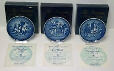 Royal Copenhagen 1989 Father's Homecoming Plate from the Motherhood Series New