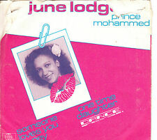 Vinyle-SINGLE-JUNE LODGE AND PRINCE MOHAMMED-Someone loves you honey