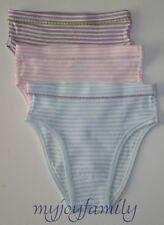 HANNA ANDERSSON Organic Under Underwear Hipster Stripes M 120 130 6-7 8 NWT