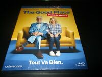 "COFFRET 3 BLU-RAY NEUF ""THE GOOD PLACE - SAISON 1"" Ted DANSON, Kristen BELL"