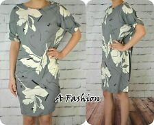 NEXT NEW UK 6 GREY LADIES SHIFT DRESS 350