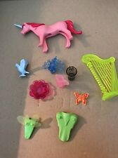 Playmobil Princess Castle Pieces Harp Peacock Unicorn Wings Pitcher Bowl Lot