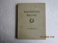 BALDERDASH BALLADS-MONSELL-HEINEMANN-1934-1ST EDITION