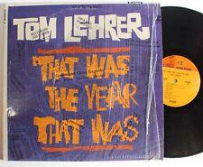 Tom Lehrer Reprise Political Satire LP 1965 in Shrink