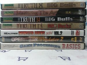 Primos Hunting DVD Collection Elk, Bulls, Bucks, Game, Outdoors FREE SHIPPING