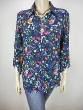 Polyester Button Down Shirt Dry-clean Only Regular Tops & Blouses for Women