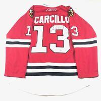 Daniel Carcillo Signed Jersey PSA/DNA Chicago Blackhawks Autographed