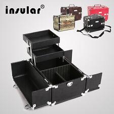 Preminum Aluminum Makeup Case Makeup Box Professional Cosmetic Case Makeup Bag