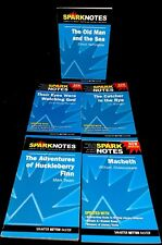 Spark Notes Literature Study Guides Paperback Lot of 5