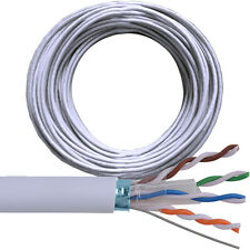 100m Cat6 FTP / STP Blindé Câble Bobine / drum-pure copper-ethernet réseau lan rj45