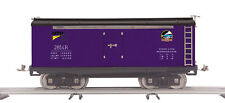 MTH Tinplate Std Gauge Purple & Black 214R Reefer Car 10-2248