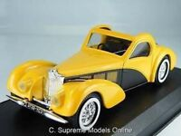 BUGATTI ATALANTE DECOUVRABLE 1939 MODEL CAR 1/43 SCALE PACKAGED ISSUE K8967Q~#~