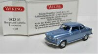 Wiking 1:87 Borgward Isabella Limousine OVP 0823 03 eisblaumetallic