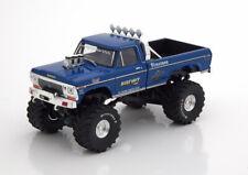 1:43 Greenlight Ford F-250 BigFoot Monster Truck 1974 bluemetallic