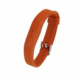 █ Sport Silicone Wrist Watch Band Strap Classic Buckle For Fitbit Flex 2 Tracker