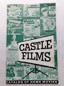 1960 Castle Films Home Movie Catalog w/ Woody Woodpecker, Bride of Frankenstein