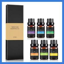 100% Pure Natural Aromatherapy Essential Oils Kit 6x10ml For Diffuser Choose FDW