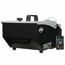 Adj American DJ Mister Kool II 2 Low Lying Water Based Fog Machine Remote