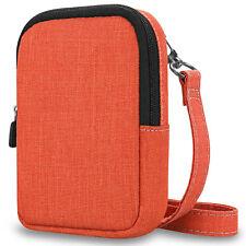 For Kodak Printomatic Digital Instant Print Camera Case Fabric Soft Bag w/ Strap