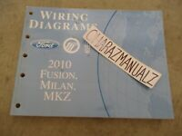 2010 Ford Fusion Milan MKZ Wiring Diagrams Manual OEM
