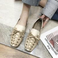 Women Casual Shoes Sneakers Lace Up Flats Breathable Outdoor Shoes 2019 Ins