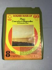 8 Track Golden Hour Of Piano Concertos & Rhapsodies