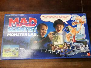 Mad Scientist Monster Lab Vintage 1986 Mattel Sealed ! Never Open ! 1980s W18