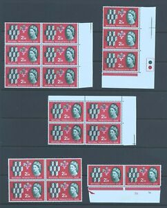 19 x  1962 National Productivity Year (NPY) 2 1/2d, Ord SG 631, MNH