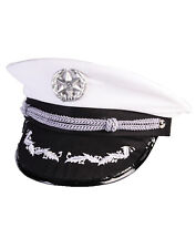 Officers Mens Adult Military Soldier Halloween Costume Hat