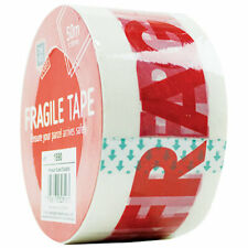 Fragil Tape Strong Parcel Packing Roll Sealing Sellotape Packaging 50mm X 50m