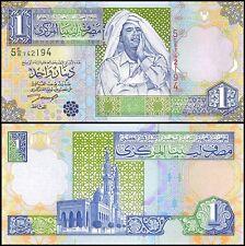 Libya 1 Dinar, 2002, P-64a, UNC