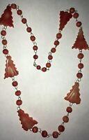 Vintage Agate Stone Link Necklace