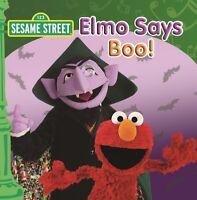 SESAME STREET Elmo Says Boo! CD BRAND NEW ABC For Kids