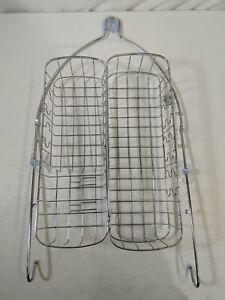 """SimpleHouseware Bathroom Hanging Shower Head Caddy Organizer Chrome 26 x 16 x 5"""""""