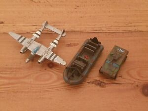⭐️ Vintage 1994 MICRO MACHINES USAF Plane Military Army BOAT Tank Jeep Galoob ⭐️