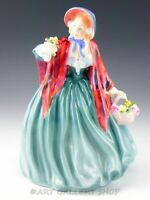 Vintage Royal Doulton England Figurine HN 1948 LADY CHARMIAN WITH FLOWERS Mint