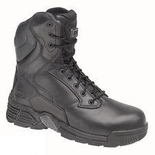 Magnum Stealth Force 8.0 Black Leather Tactical Uniform Boots UK Size 8 EU 42