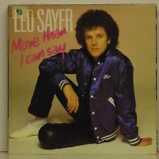 "LEO SAYER 'MORE THAN  I CAN SAY' UK PICTURE SLEEVE 7"" SINGLE"