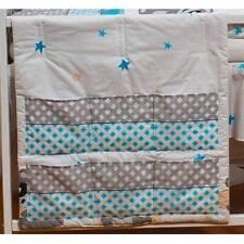 Linge de lit gris pour bébé