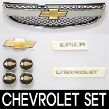 Front Grill Beat Full Package Set UNPAINTED For 06 11 Chevy Epica Tosca