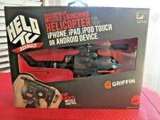 Griffin Helo TC Assault Touch Controlled Missile Launching Helicopter iPhone iPa