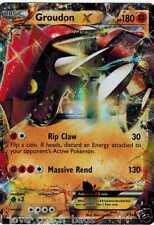 Groudon EX XY42 Tin Promo New Mint Pokemon Ultra Rare Holo Foil  Primal Clash