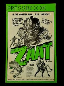 ZAAT  Original 1972 pressbook with heralds  Sci-Fi