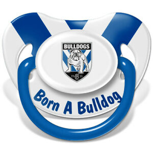 Team Official NRL Baby Infant New Born Dummy