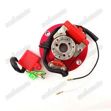 Red Racing Magneto Stator Rotor CDI For 110cc 125cc 140cc YX Lifan Dirt Pit Bike